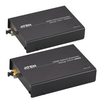 Aten VE-882 HDMI extender po optickém vlákně do 600m, 3D, IR,RS-232