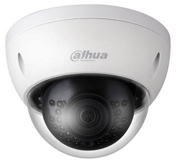 Dahua IP kamera, dome, 2Mpix 30fps, H.265+, f=2,8mm(104st), DWDR, IR30m, IP67, IK10, uSD slot