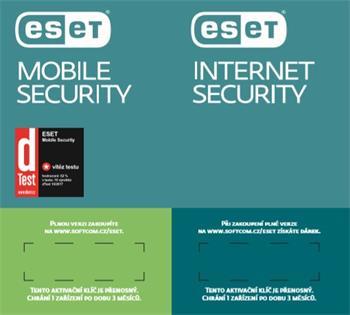 ESET Internet Security 1lic na 3 měsíce