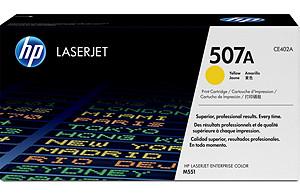 HP Toner Cart Yellow CE402A