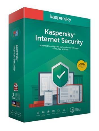 Kaspersky Internet Security MD CZ 5PC/2roky, el.licence