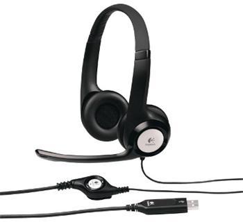 Náhlavní sada Logitech USB Headset H390, 981-000406