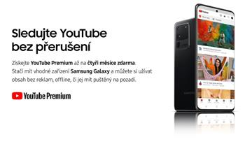 Samsung Promo YouTube Music a YouTube Premium