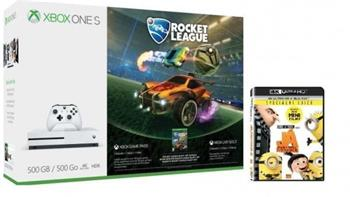 XBOX ONE S - 500GB + Rocket League + Já, Padouch 3